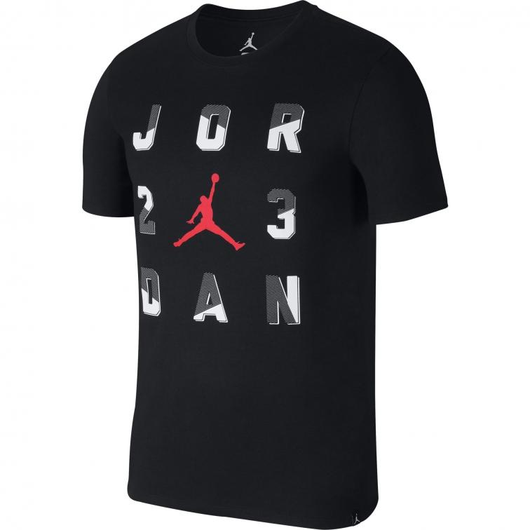"""JORDAN T-SHIRT """"JORDAN 23"""" NERA"""