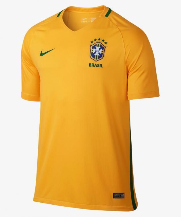BRASILE HOME SHIRT 2016-18