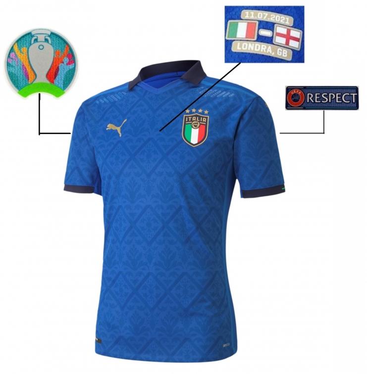 ITALIA FIGC MAGLIA GARA 2021 FINALE WEMBLEY consegna 25 Novembre