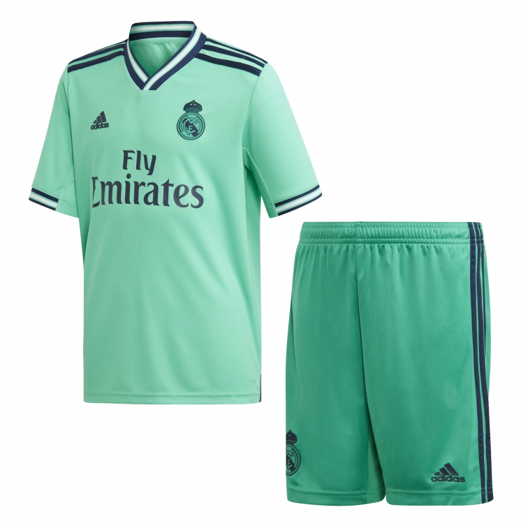 REAL MADRID COMPLETO BAMBINO 3RD VERDE 2019-20