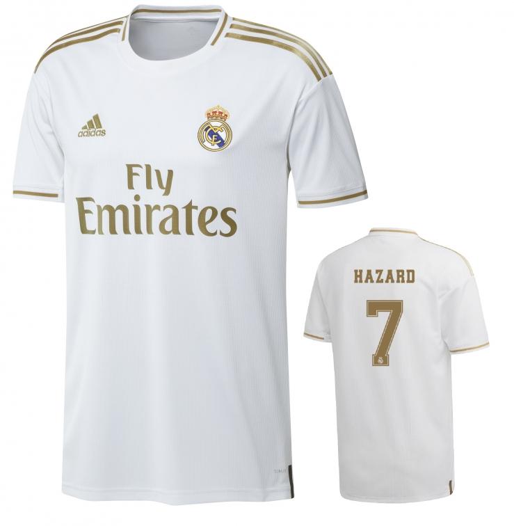 REAL MADRID MAGLIA HAZARD BAMBINO 2019-20