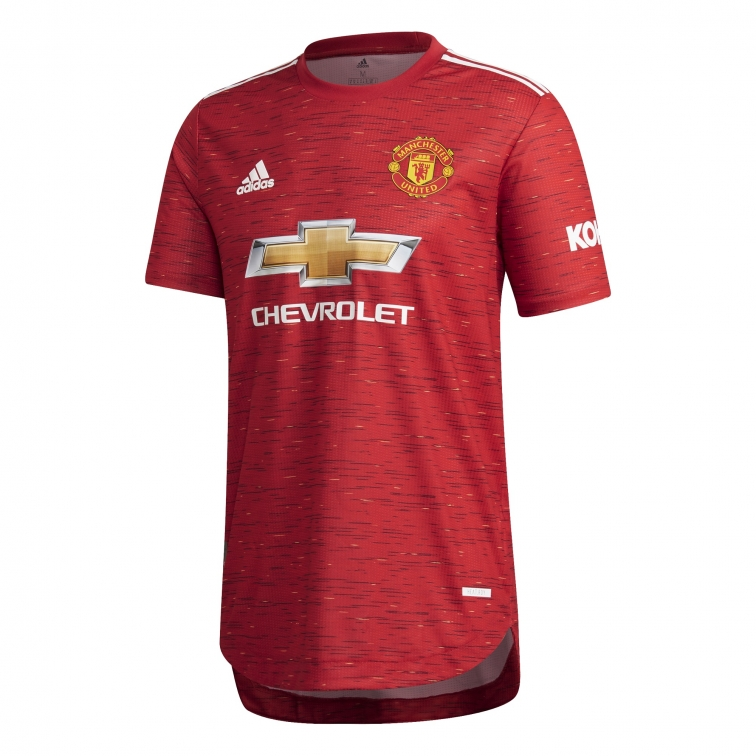 MANCHESTER UNITED AUTHENTIC HOME SHIRT 2020-21