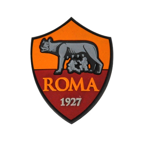 AS ROMA MAGNETE IN GOMMA