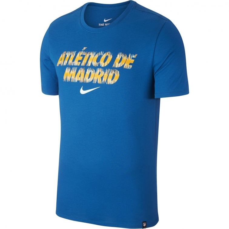 ATLETICO MADRID T-SHIRT BLUE 2018-19