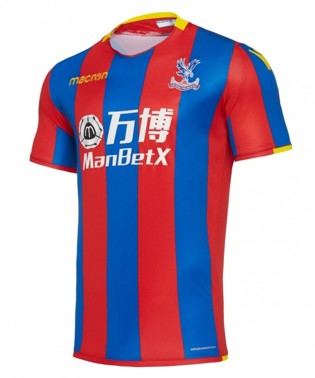 CRYSTAL PALACE MAGLIA HOME 2017-18