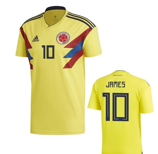 COLOMBIA MAGLIA JAMES HOME 2017-19