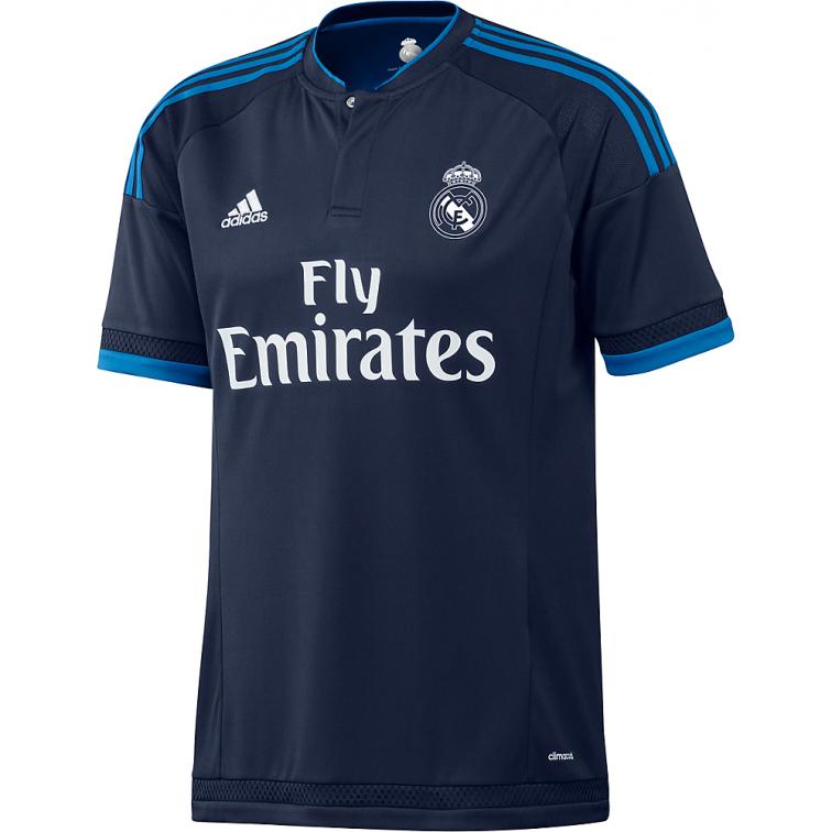 REAL MADRID MAGLIA BLU 2015-16