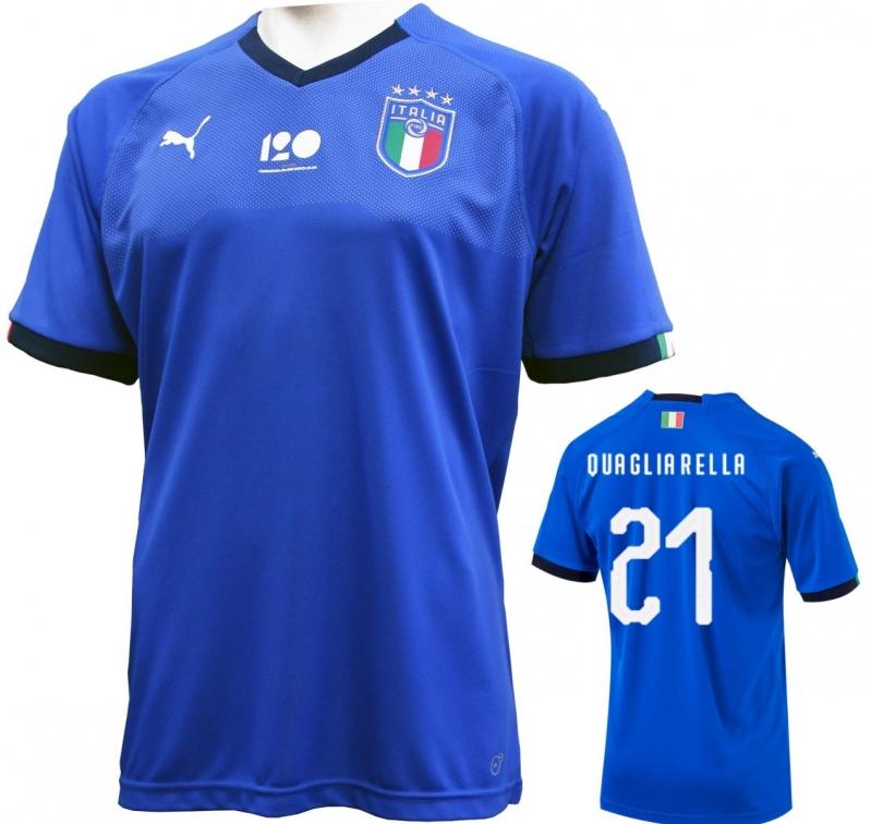 ITALIA FIGC MAGLIA 120 ANNI QUAGLIARELLA 2018-19