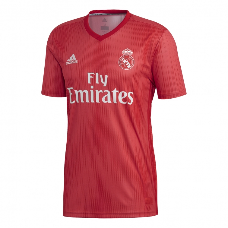 REAL MADRID MAGLIA ROSSA 3RD 2018-19