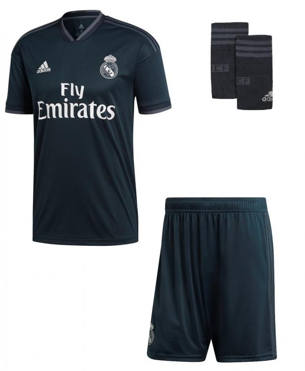REAL MADRID COMPLETO BAMBINO AWAY 2018-19