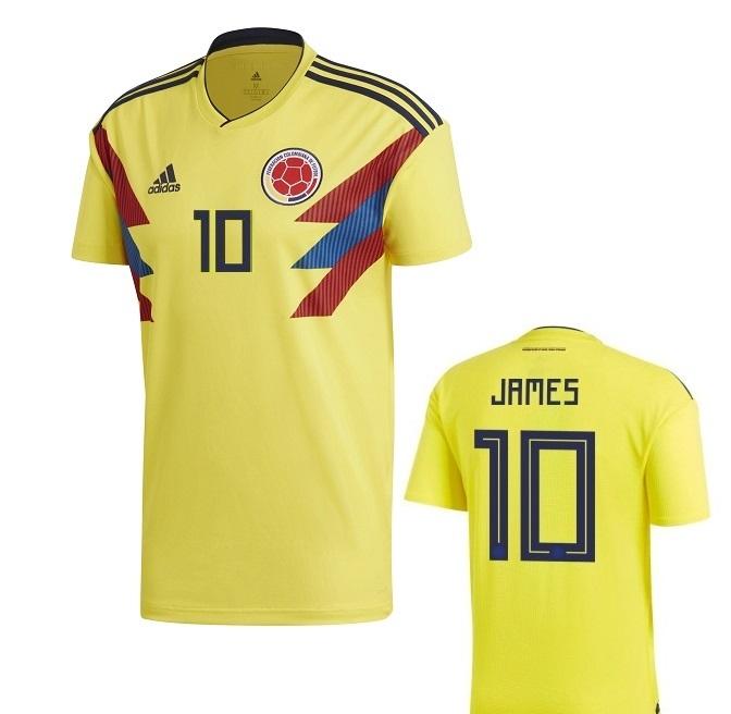 COLOMBIA MAGLIA JAMES BAMBINO 2017-19