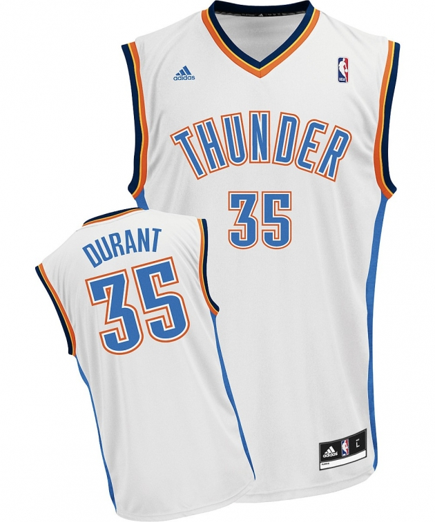 KEVIN DURANT HOME JERSEY