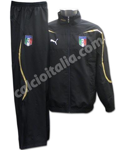 brand new 7cbab 6f3e6 ITALIA TUTA PRESENTAZIONE MICROFIBRA NERA