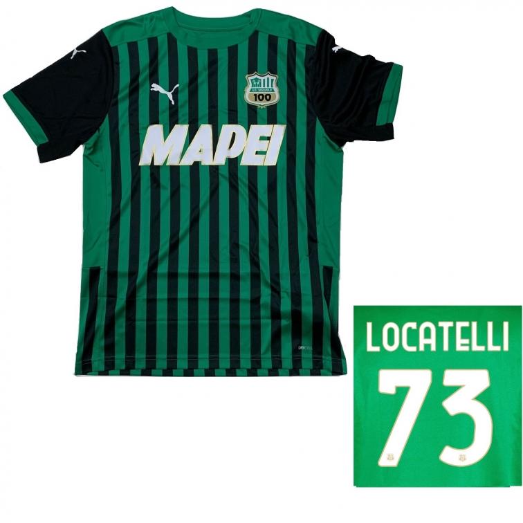 SASSUOLO MAGLIA LOCATELLI BAMBINO 2020-21