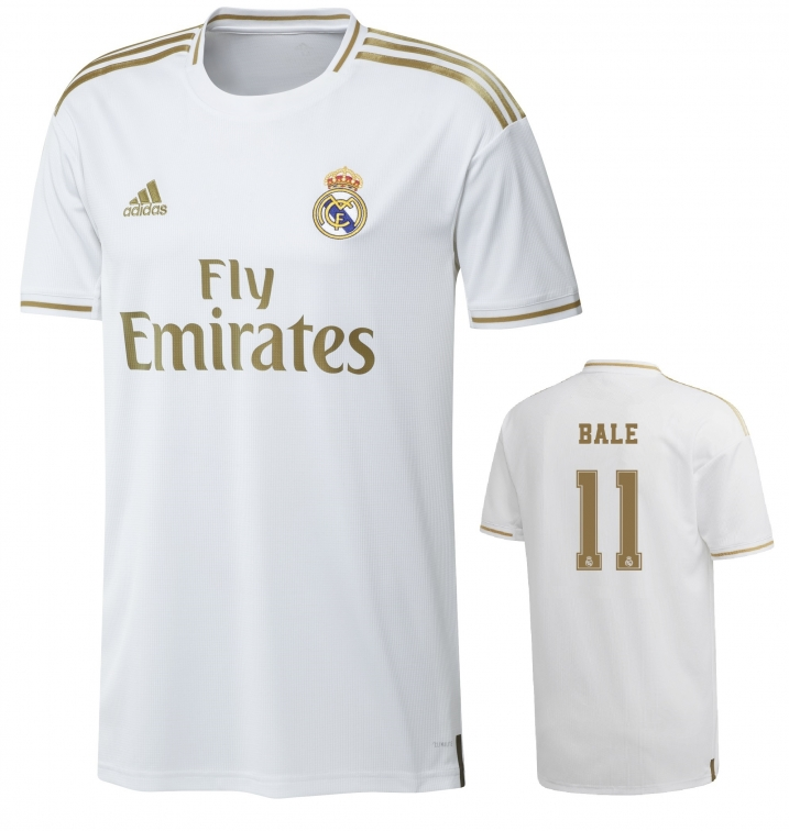 REAL MADRID MAGLIA BALE HOME 2019-20