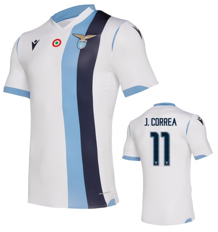 SS LAZIO CORREA AUTHENTIC MATCH AWAY SHIRT 2019-20