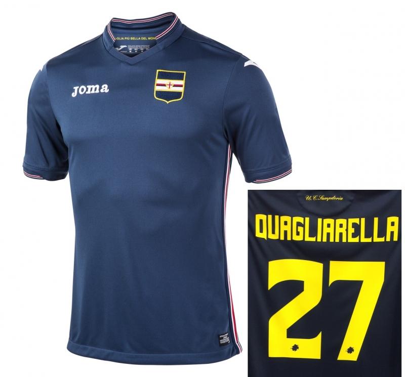 Seconda Maglia Sampdoria completini