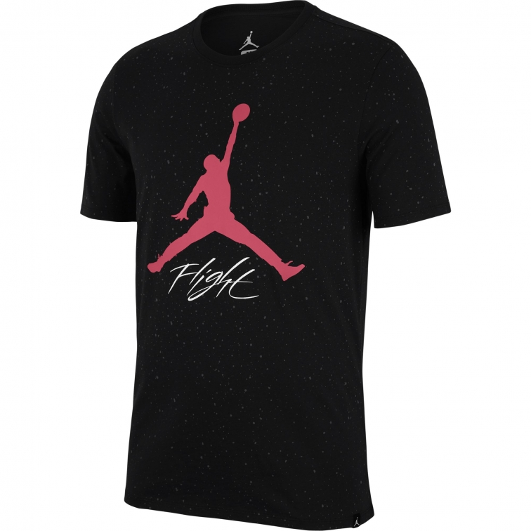 JORDAN T-SHIRT LOGO FLIGHT NERA