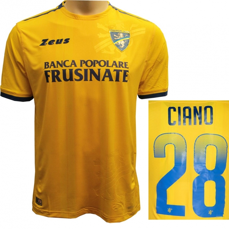 FROSINONE MAGLIA CIANO HOME 2018-19