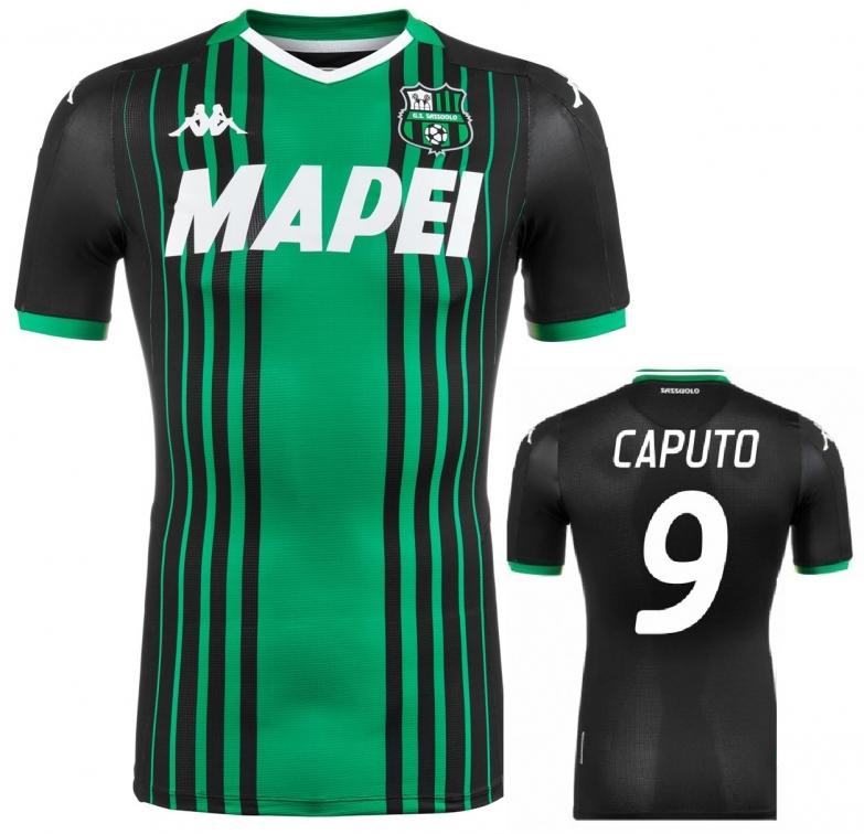 SASSUOLO MAGLIA CAPUTO AUTENTICA GARA 2019-20