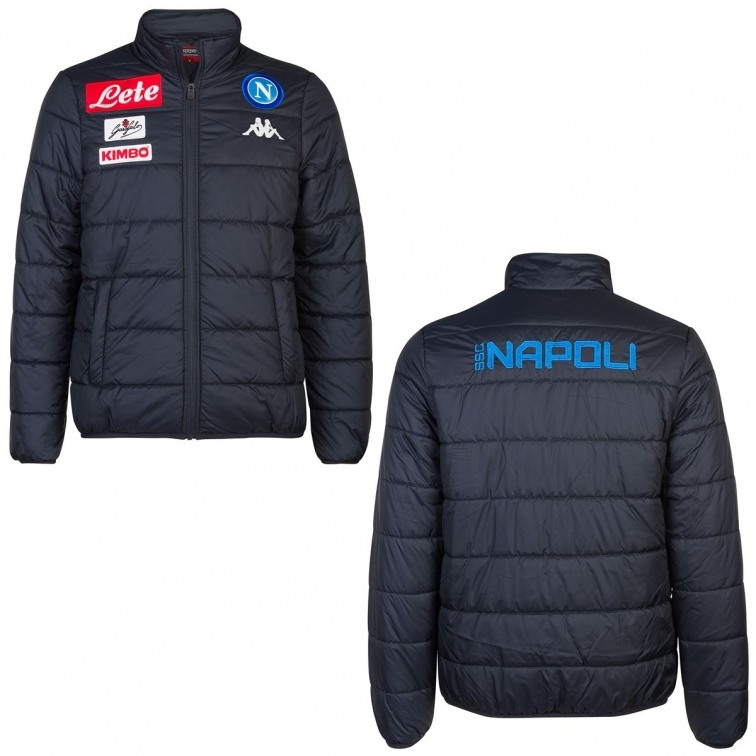 detailed look f3fa8 1313e SSC NAPOLI GIACCA PIUMINO 2018-19