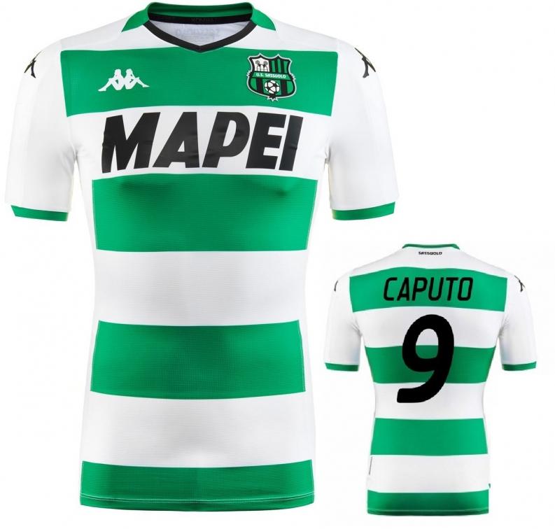 SASSUOLO MAGLIA CAPUTO AUTENTICA GARA AWAY 2019-20