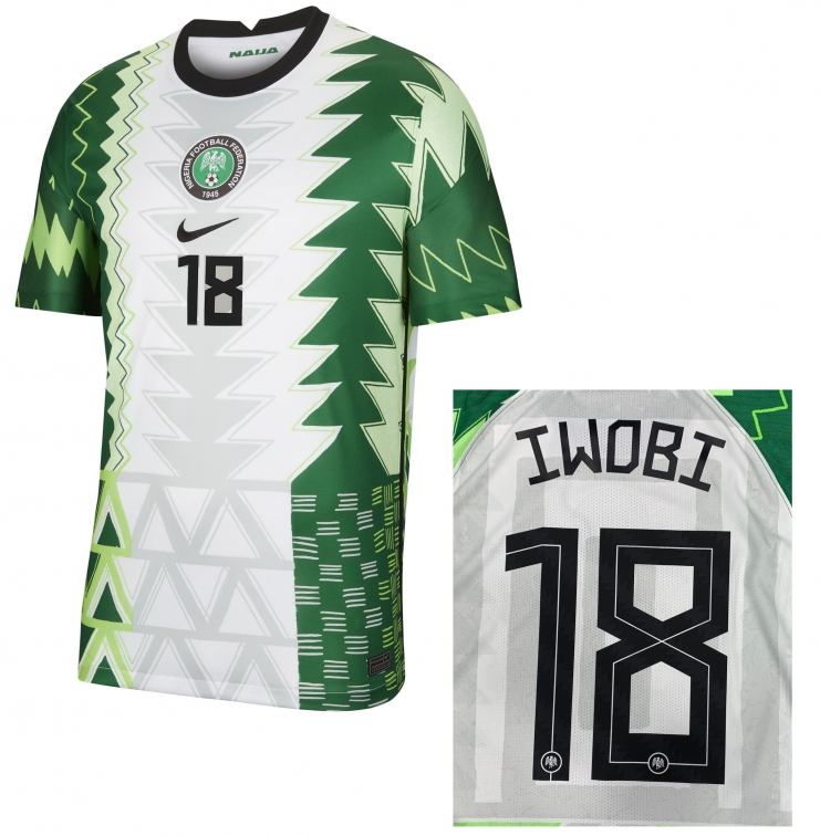 NIGERIA MAGLIA IWOBI HOME 2020-21
