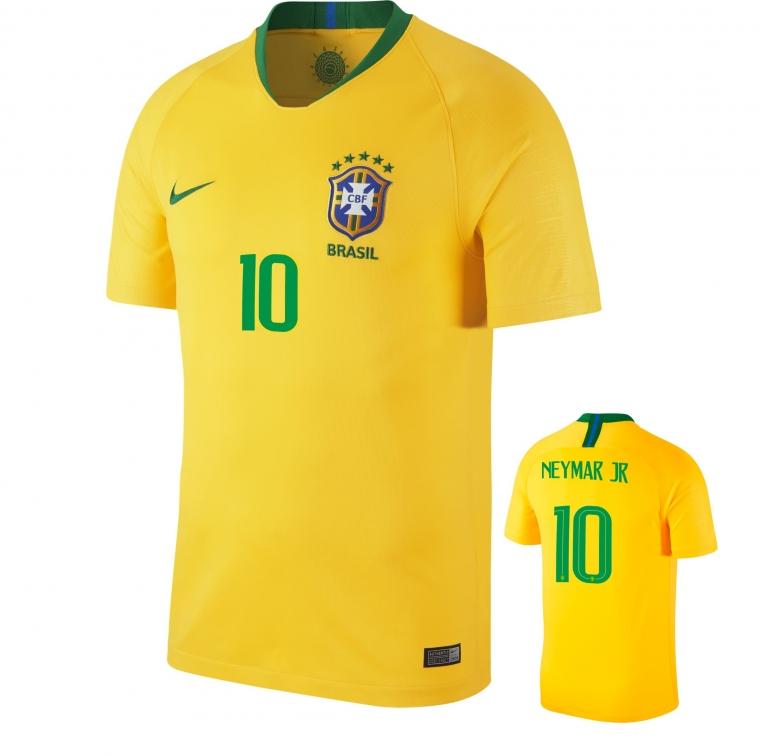 BRASIL NEYMAR JR HOME SHIRT 2018-19