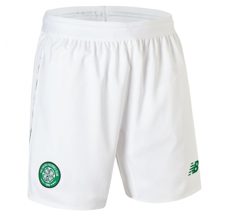 CELTIC GLASGOW PANTALONCINI HOME 2018-19