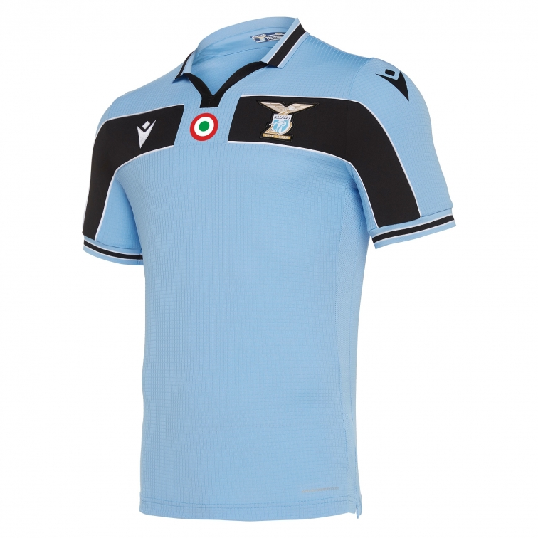 SS LAZIO 120 YEARS OFFICIAL AUTHENTIC MATCH HOME SHIRT