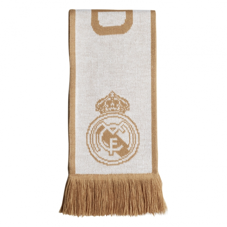 REAL MADRID WHITE-GOLD SCARF 2019-20