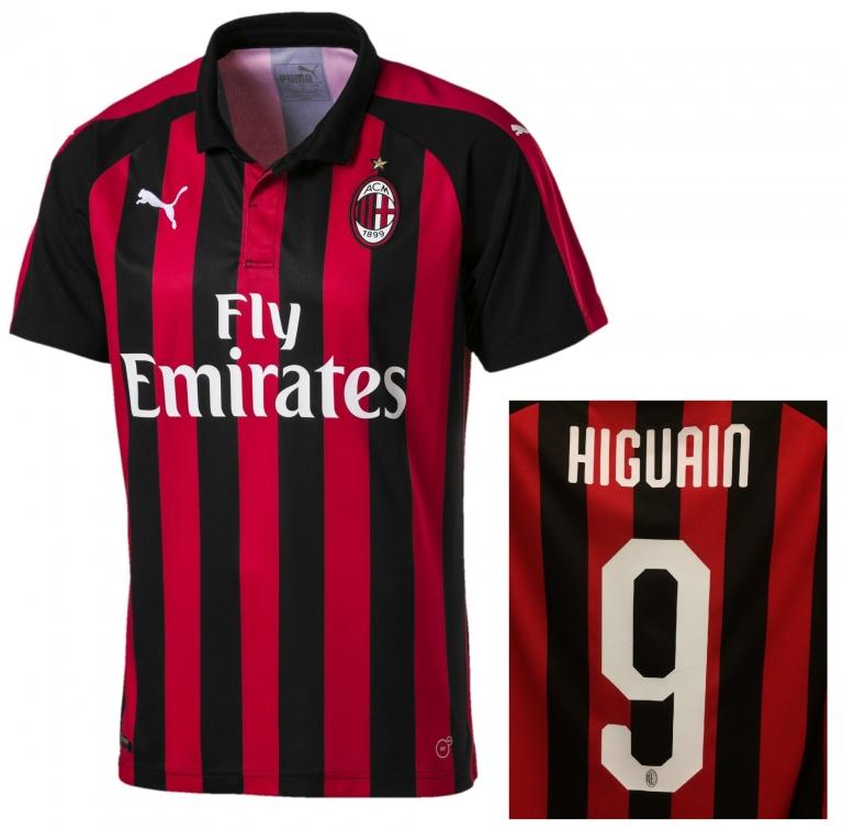 Maglia Home AC Milan nazionali