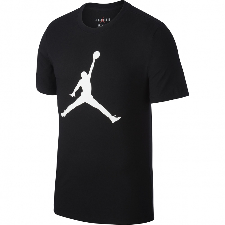 JORDAN LOGO BLACK T-SHIRT 2019-20