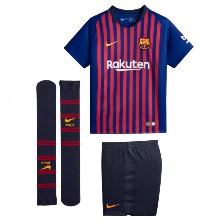 completo calcio FC Barcelona completini