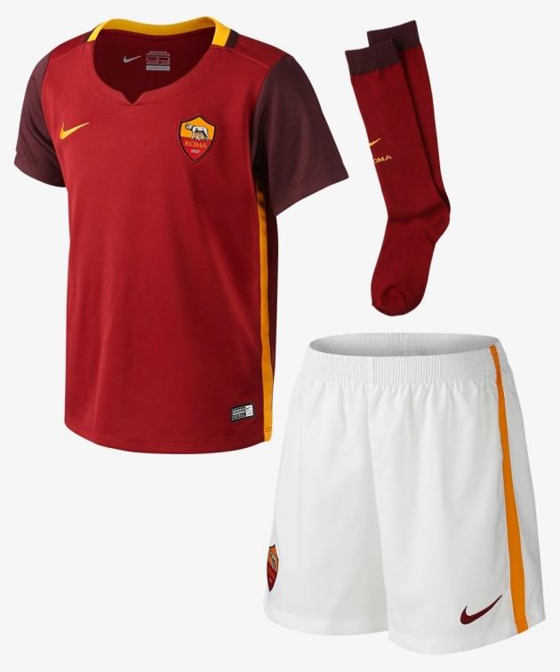 AS ROMA COMPLETO BAMBINO UFFICIALE 2015-16