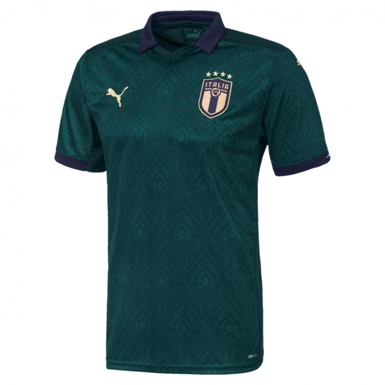 ITALIA FIGC MAGLIA 3RD VERDE 2019-20