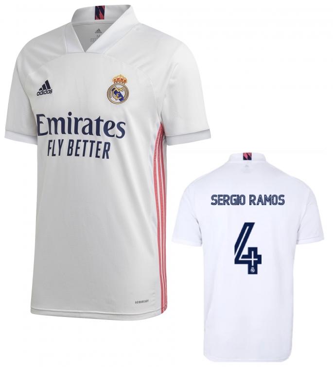REAL MADRID MAGLIA SERGIO RAMOS HOME 2020-21