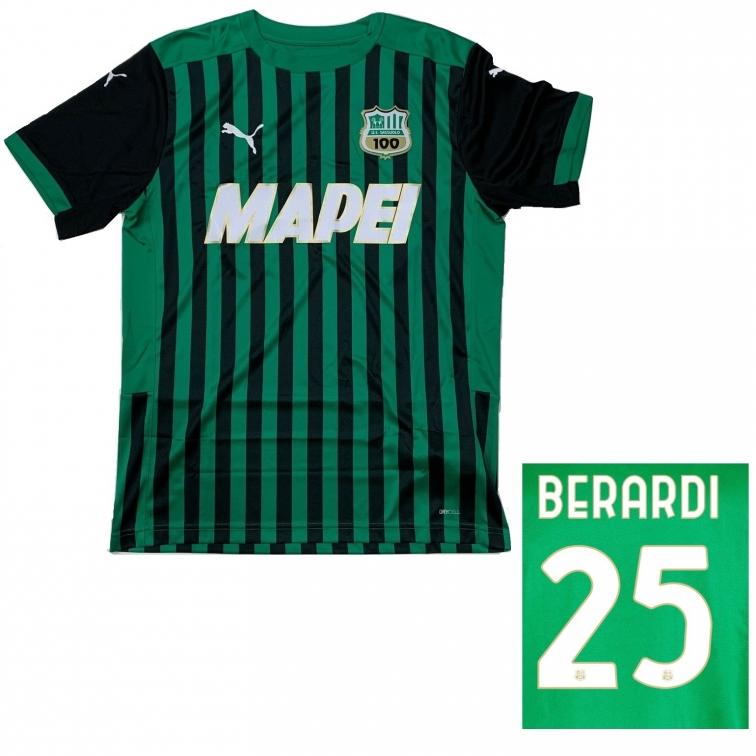 SASSUOLO MAGLIA BERARDI HOME 2020-21