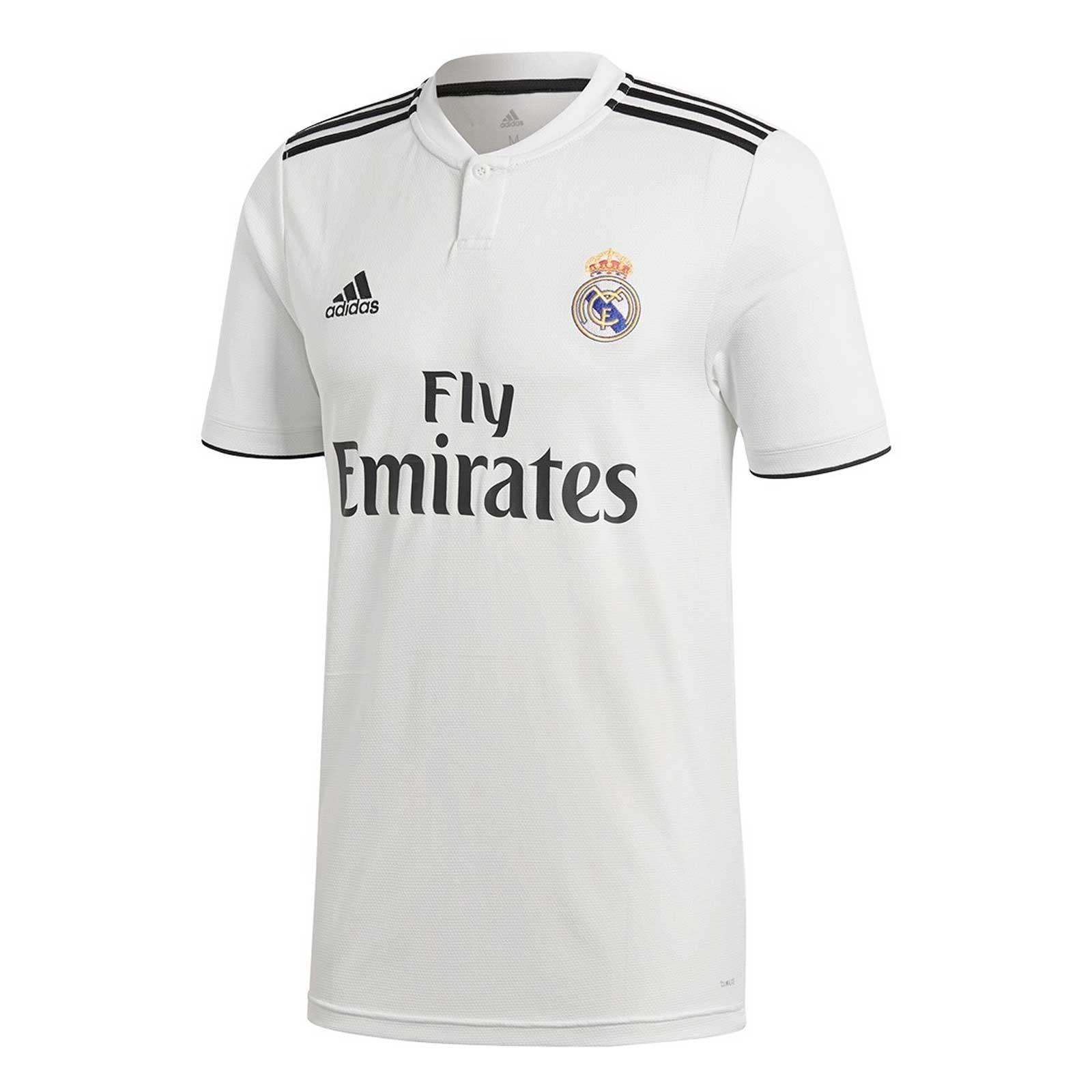 REAL MADRID HOME SHIRT 2018-19 | CalcioItalia.com