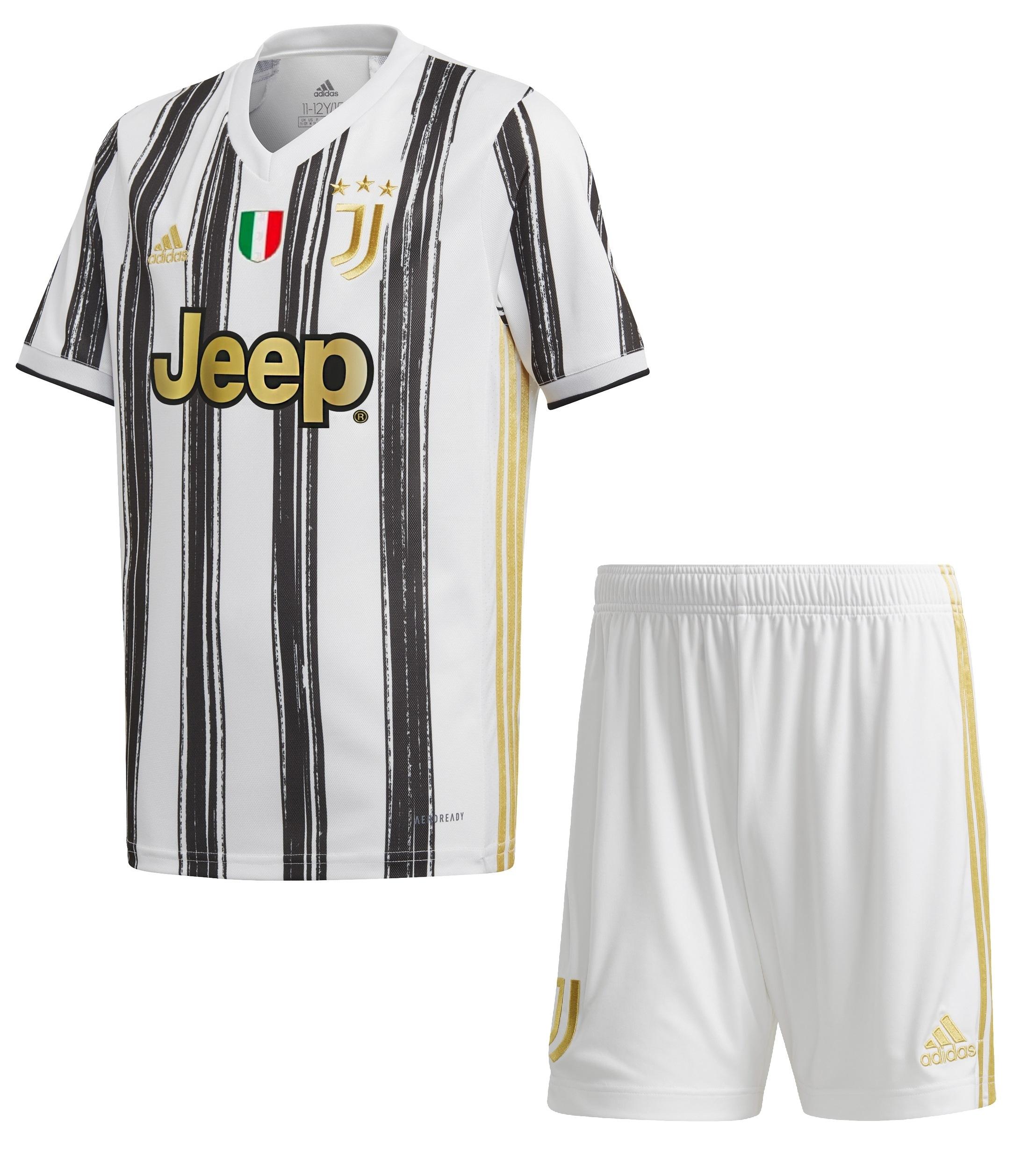 JUVENTUS COMPLETO BAMBINO HOME 7-16 anni 2020-21 | CalcioItalia.com
