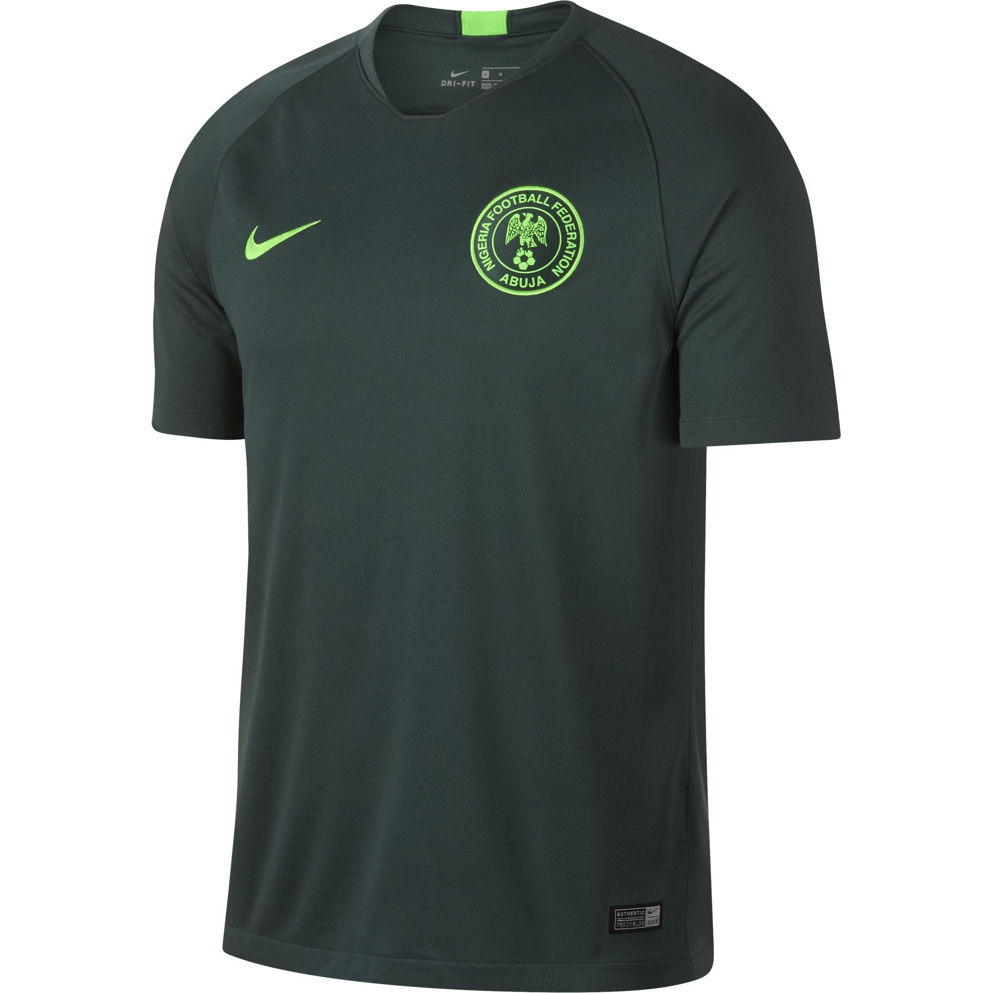 NIGERIA MAGLIA AWAY 2018-19   CalcioItalia.com