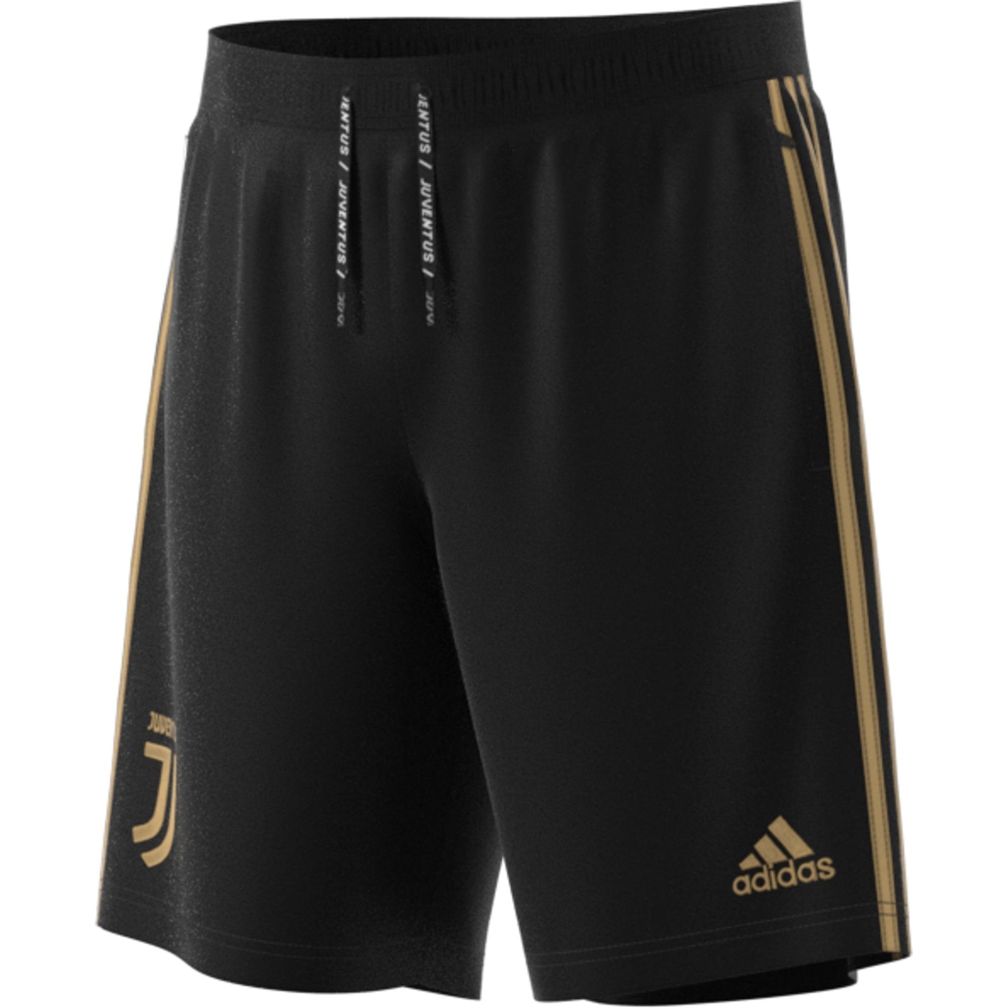 pantaloni adidas nero oro