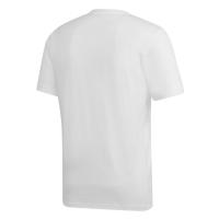 REAL MADRID LOGO WHITE T-SHIRT 2018-19