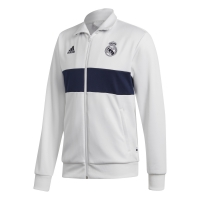 REAL MADRID TRACK WHITE JACKET 2019-20