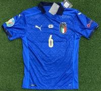 ITALIA FIGC MAGLIA VERRATTI AUTENTICA GARA AUTOGRAFATA GIOCATORI WEMBLEY 2021