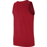 JORDAN COTTON JUMPMAN RED SLEEVELESS
