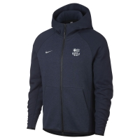 BARCELLONA FELPA CAPPUCCIO ZIP TECH FLEECE 2018-19