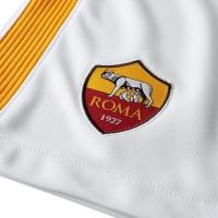 AS ROMA PANTALONCINI AWAY BIANCHI 2017-18