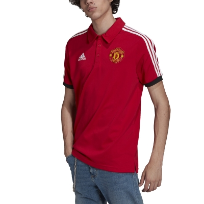 MANCHESTER UNITED RED POLO 2021-22