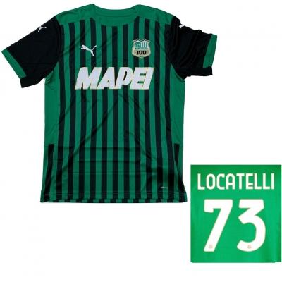 SASSUOLO MAGLIA LOCATELLI HOME 2020-21